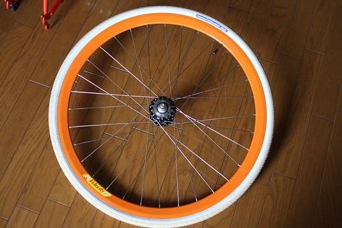 650C wheel