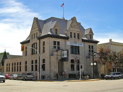 City Hall, Portage la Prairie, Manitoba by klaatuveratunictu