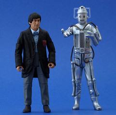 2nd Doctor and Cyberman