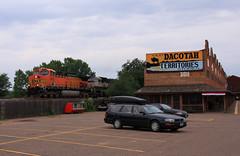 BNSF 5678; North Dakota Trip Summary; Medora, ND