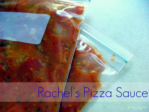Rachel's Pizza Sauce