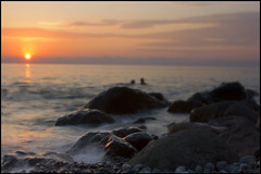 Black sea Sunset (Tinatin Revazi - Magic.ge) Tags: sunset sea sun black water swimming georgia stones wave tina sakartvelo tiko achara adjara sarpi sarfi saqartvelo revazishvili revazi