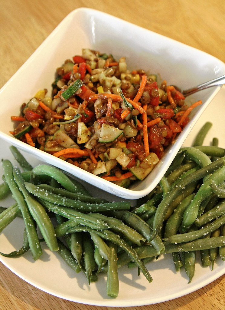 Lentil Salad with Green Beans