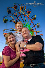 Our Family at the County Fair (Jonathon Campbell Photography) Tags: family girls portrait color kids portraits children franklin child tennessee lifestyle naturallight williamson williamsoncounty jonathoncampbell jonathoncampbellphotography