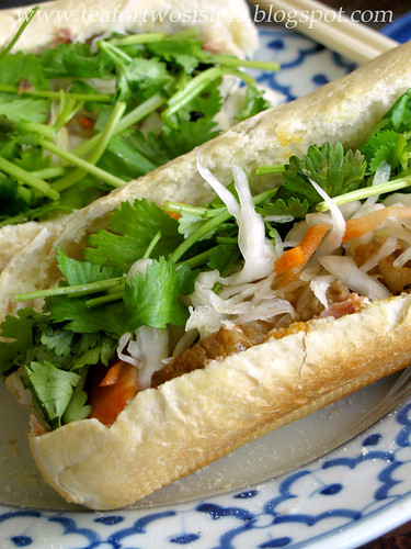 Homemade banh mi