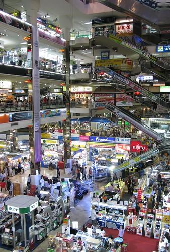 Immense computer mall - Bangkok, Thailand