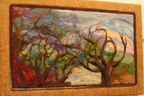 Needlefelting in Fine Arts