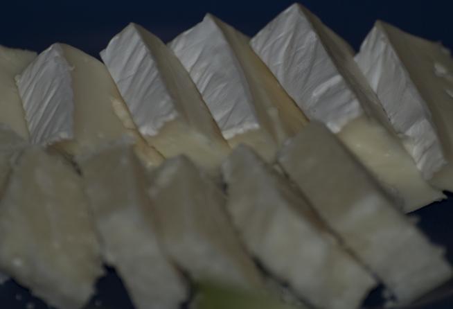 Brie och parmesanost