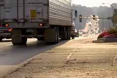 365_289 / Morning Traffic (DAJanzen) Tags: cars morninglight traffic pavement semi commuting earlyseptember intothesun weekday nikond200 justwestofthefoxriver downtowngenevail feeloffallintheair