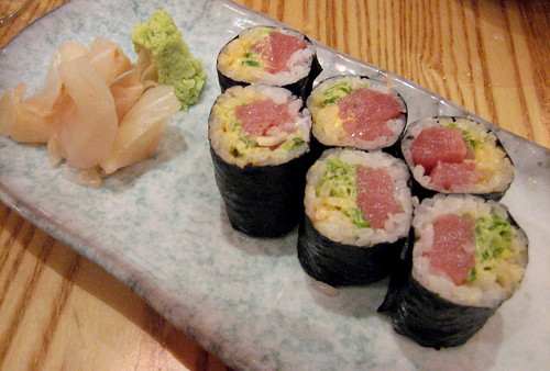 Spicy Yellowfin Tuna Roll