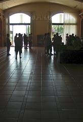 Esperant al Centre de Visites Torres
