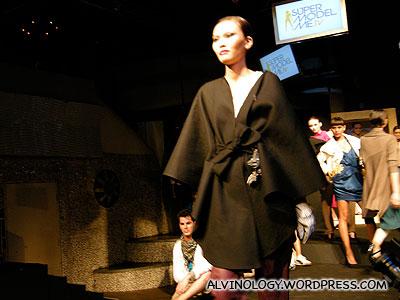 Giant shawl or bath robe?