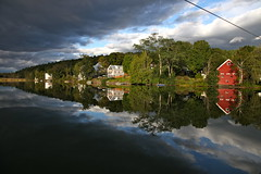 Brookfield, Vermont (mathowie) Tags: brookfield sunsetlake