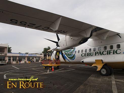CEB at Virac Airport