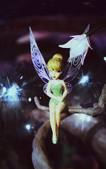 Tinkerbell (heartbreaker [London]) Tags: uk madame cute london fairytale wings character united cartoon tinkerbell kingdom disney peter fairy wax pan tussauds