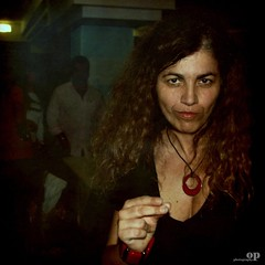 """Yes, I'm A Witch"" (Osvaldo_Zoom) Tags: red party portrait italy woman dark dance eyes nikon witch rita free lips yoko calabria ono strega 2345 principessa amantea d80"