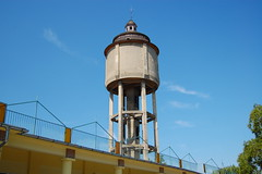 Water-tower, Trkszentmikls (Istvan) Tags: hungary watertower highrise trkszentmikls vogonpoetry liptkjnos