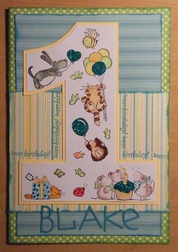 age 1 card