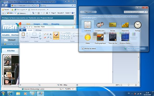 Applications Windows 7