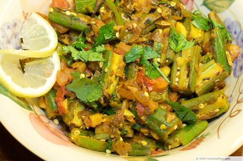 Okra Masala (Bhindi Masala)