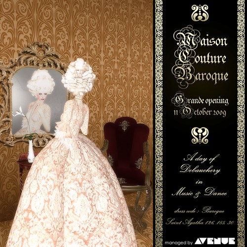 Maison Couture Baroque Galleria Sim Opening