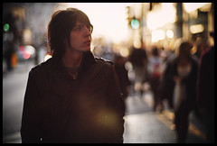 drifter (futureancient) Tags: leica autumn london leather lowlight shadows bright bokeh longhair theory f10 adrift dreams noctilux outsiders ideas wandering w1 harsh observers verve oxfordst m9 perceptions bias prejudice intothelight misconceptions aloneintheworld lowsunshine leicam9