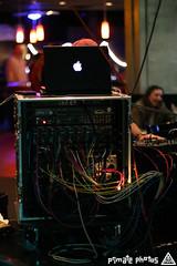 IMG_0374 (Dan Correia) Tags: topv111 macintosh dof bokeh laptop mixer nightclub noiseninja dubstep canonef50mmf14usm macbook