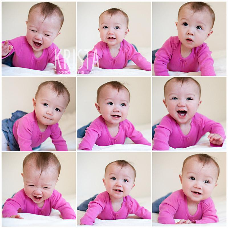 Pink Baby Portraits
