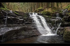 More forest falls at Talybont (Martyn.Smith. Back from Euro tour :)) Tags: mountain water creek forest canon woodland river eos photo waterfall stream flickr wasserfall sigma wideangle falls breconbeacons waterfalls cascade cachoeira usk 1022mm cascada chutedeau cascata waterval talybont 450d  mygearandmepremium mygearandmebronze mygearandmesilver mygearandmegold mygearandmeplatinum