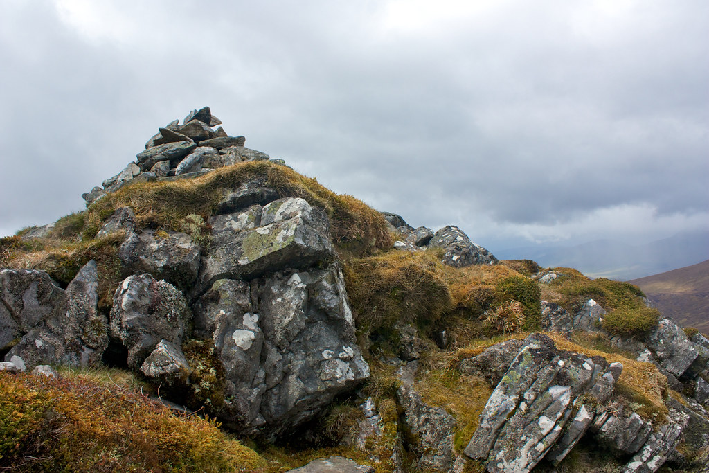 Summit of Meallan nan Uan