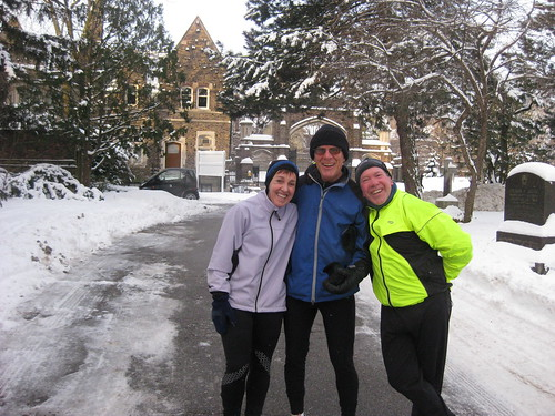 Saturday Morning Training Run in Mount Pleasant Cemetery