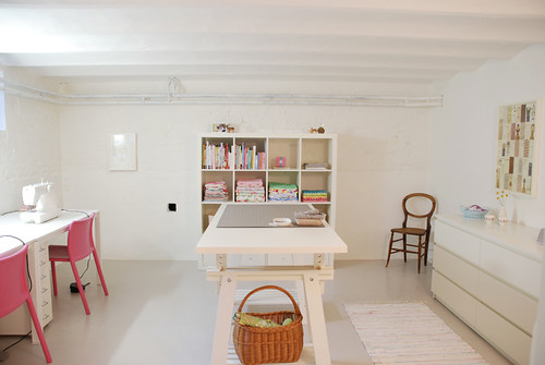 Minimalist Sewing Room photo by yvestown