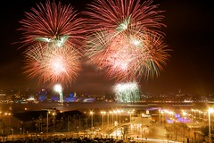 Capital of Culture handover fireworks (Mr Anthony C) Tags: liverpool river fireworks fave mersey capitalofculture transitionnight