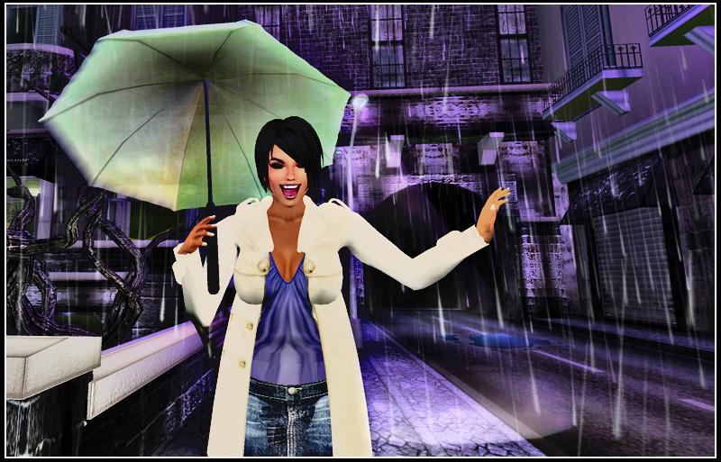 Happy rain!