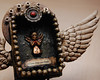 it's later than you think (six06) Tags: art death miniature wings shrine recycled assemblage rusty mini nicho crusty matchbox assemblageart michaeldemeng itslaterthanyouthink demeng juliezarate