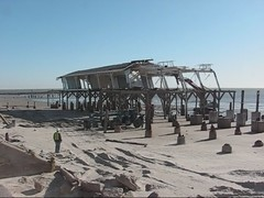 Murdoch's Demolition after Hurricane Ike () Tags: ocean wood blue winter sea hardhat house storm galveston abandoned film beach water loss wall strand wow movie mexico fun lost demo island see coast pier video interesting construction sand bath waves texas sad workmen gulf destruction tx seagull gull hurricane salt january houston demolition seawall farewell damage goodbye ike bye galvestonisland surge contractor isle cyclone flick murdoch noaa typhoon deconstruction nhc rebuild destroy filmstrip bathhouse balinese vid gtown seewall gulfo galv hurricaneike