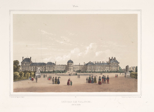 004-Paris- Castillo de las Tuileries 1858