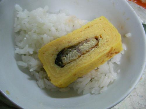 鰻魚蛋燒特寫