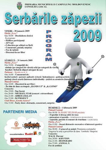 30 Ianuarie - 1 Februarie 2009 » Serbările Zăpezii