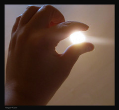 Umbrage (Nikar`-) Tags: light sun night hand glory umbrage  nikar canong9