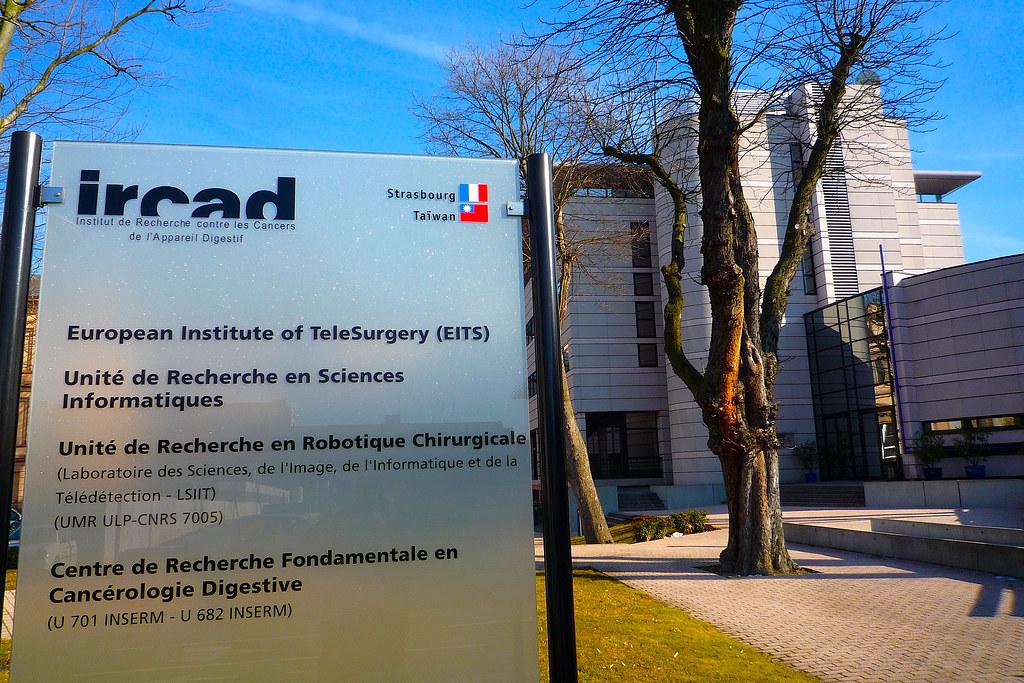 Strasbourg, l'Institut de Recherche contre les Cancers de l'Appareil Digestif - IRCAD.
