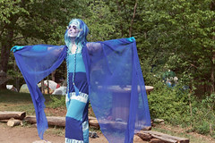 Fausto at the 1999 Faerie Gathering, Short Mountain, Tennessee