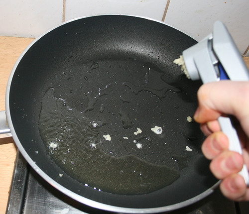 Knoblauch in Öl