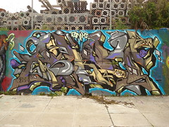 Aloy MSK SKA SanFrancisco Graffiti Art (anarchosyn) Tags: sanfrancisco art graffiti ska msk seventhletter aloy