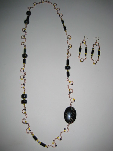 3rd Necklace with earings