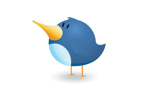 Twitter bird logo icon illustration by Matt Hamm, on Flickr