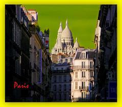 15174 - La Basilique du Sacré Coeur de Montmartre *   大教堂的圣心教堂法国巴黎 C-0962  Basilique Sacré Coeur Montmartre Paris FRANCE * 大教堂的圣心教堂法国巴黎 聖心教会大聖堂のパリ、フランス Chiesa del Sacro Cuore Cattedrale a Parigi, Francia  Церковь Святого Сердца соборе в Париже, Франция