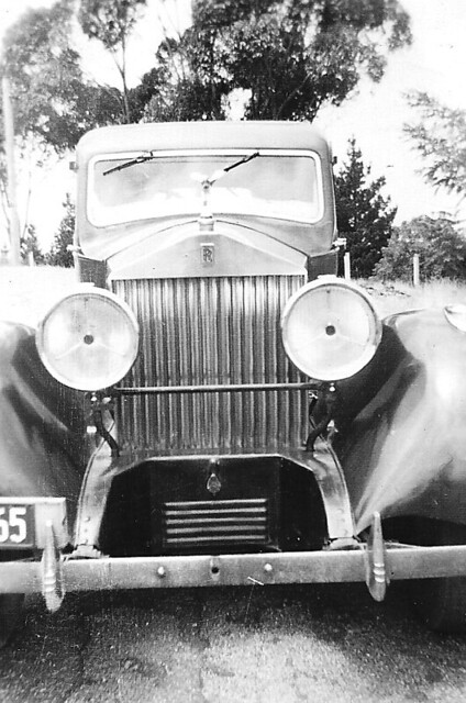 Rolls Royce  c1957 in Castlemaine