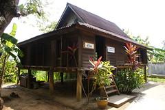 Her Father's cribs.. (~ kokstang) Tags: sunset car train traditional cable hanging lama penang langkawi brigde rumah bukit tradisional bendera helang mahsuri