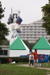 The Gundam is spotted (Giant Ginkgo) Tags: anime statue japan giantrobot sunrise tokyo robot nikon asia 11 odaiba otaku nikkor mecha nikkorlens realg mobilesuitgundam nikonlens lifesized tokyogundam rx78 odaibaisland amuroray 85mmf18k rx78gundam nikkoroncanon nikkor85mmf18ai odaibagundam 30thanniverserygundam assembledgundam completedgundam greentokyogundam gundamstatue lifesizedgundam whitebasegundam